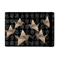 Paper Cranes Apple Ipad Mini Flip Case by Valentinaart