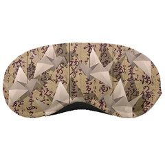 Paper Cranes Sleeping Masks by Valentinaart