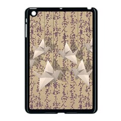 Paper Cranes Apple Ipad Mini Case (black) by Valentinaart
