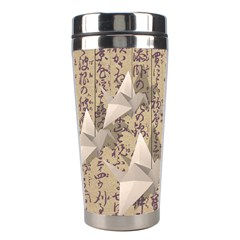 Paper Cranes Stainless Steel Travel Tumblers by Valentinaart