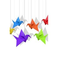 Paper Cranes 5 5  X 8 5  Notebooks by Valentinaart