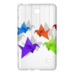 Paper Cranes Samsung Galaxy Tab 4 (8 ) Hardshell Case  by Valentinaart