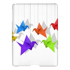 Paper Cranes Samsung Galaxy Tab S (10 5 ) Hardshell Case  by Valentinaart