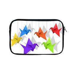 Paper Cranes Apple Macbook Pro 13  Zipper Case by Valentinaart