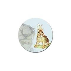 Rabbit  Golf Ball Marker (4 Pack) by Valentinaart