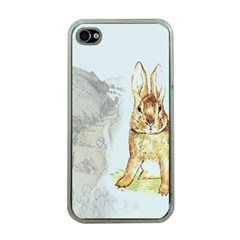 Rabbit  Apple Iphone 4 Case (clear) by Valentinaart