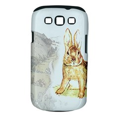 Rabbit  Samsung Galaxy S Iii Classic Hardshell Case (pc+silicone) by Valentinaart