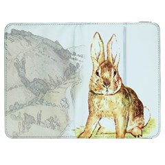 Rabbit  Samsung Galaxy Tab 7  P1000 Flip Case by Valentinaart