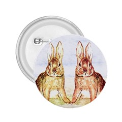 Rabbits  2 25  Buttons by Valentinaart