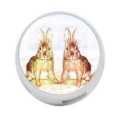 Rabbits  4 Port Usb Hub (two Sides)  by Valentinaart