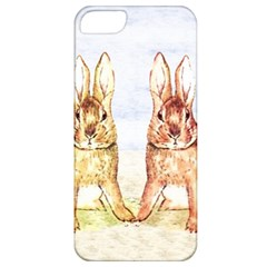 Rabbits  Apple Iphone 5 Classic Hardshell Case by Valentinaart