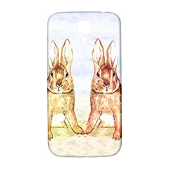 Rabbits  Samsung Galaxy S4 I9500/i9505  Hardshell Back Case by Valentinaart