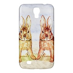 Rabbits  Samsung Galaxy Mega 6 3  I9200 Hardshell Case by Valentinaart