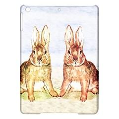 Rabbits  Ipad Air Hardshell Cases by Valentinaart