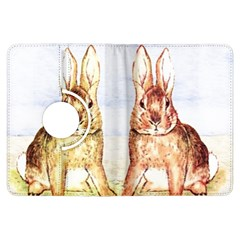 Rabbits  Kindle Fire Hdx Flip 360 Case by Valentinaart