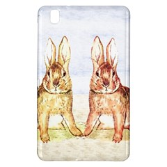 Rabbits  Samsung Galaxy Tab Pro 8 4 Hardshell Case by Valentinaart