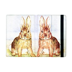 Rabbits  Ipad Mini 2 Flip Cases by Valentinaart