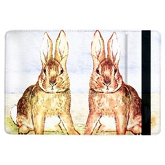 Rabbits  Ipad Air Flip by Valentinaart