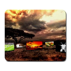 Africa Large Mousepads by Valentinaart