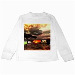 Africa Kids Long Sleeve T Shirts by Valentinaart