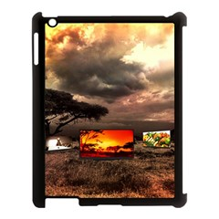 Africa Apple Ipad 3/4 Case (black) by Valentinaart