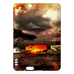 Africa Kindle Fire Hdx Hardshell Case by Valentinaart