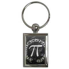 Pi Key Chains (rectangle)  by Valentinaart