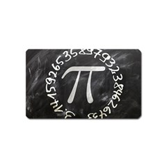 Pi Magnet (name Card) by Valentinaart