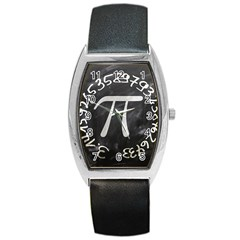 Pi Barrel Style Metal Watch by Valentinaart