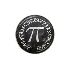 Pi Hat Clip Ball Marker by Valentinaart