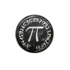 Pi Hat Clip Ball Marker (10 Pack) by Valentinaart