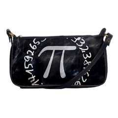 Pi Shoulder Clutch Bags by Valentinaart