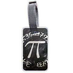 Pi Luggage Tags (one Side)  by Valentinaart