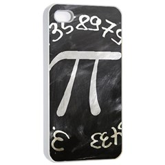 Pi Apple Iphone 4/4s Seamless Case (white) by Valentinaart