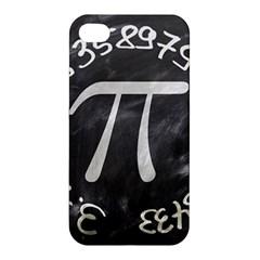 Pi Apple Iphone 4/4s Premium Hardshell Case by Valentinaart