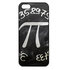 Pi Apple Iphone 5 Seamless Case (black) by Valentinaart