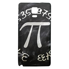 Pi Galaxy Note 4 Back Case by Valentinaart