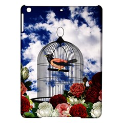 Vintage Bird In The Cage  Ipad Air Hardshell Cases by Valentinaart
