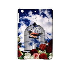 Vintage Bird In The Cage  Ipad Mini 2 Hardshell Cases by Valentinaart