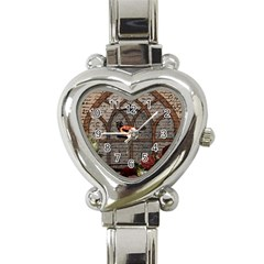 Vintage Bird In The Cage Heart Italian Charm Watch by Valentinaart