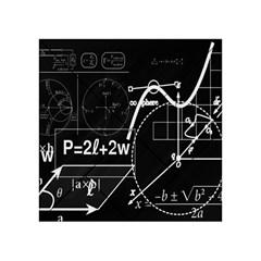 School Board  Acrylic Tangram Puzzle (4  X 4 ) by Valentinaart