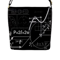 School Board  Flap Messenger Bag (l)  by Valentinaart