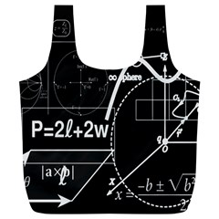 School Board  Full Print Recycle Bags (l)  by Valentinaart