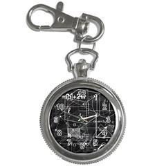 School Board  Key Chain Watches by Valentinaart