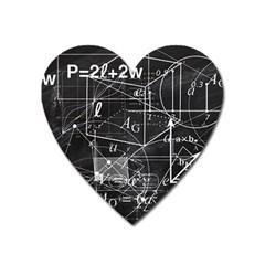 School Board  Heart Magnet by Valentinaart