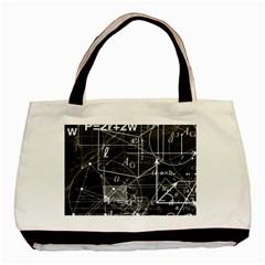 School Board  Basic Tote Bag by Valentinaart