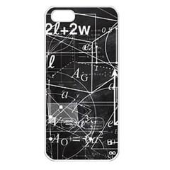 School Board  Apple Iphone 5 Seamless Case (white) by Valentinaart