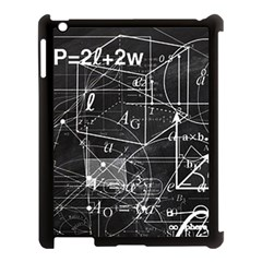 School Board  Apple Ipad 3/4 Case (black) by Valentinaart