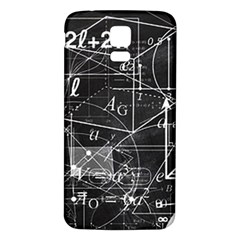School Board  Samsung Galaxy S5 Back Case (white) by Valentinaart