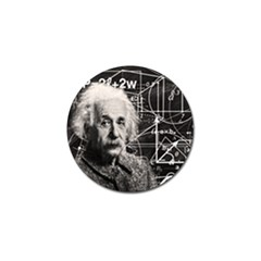 Albert Einstein Golf Ball Marker by Valentinaart